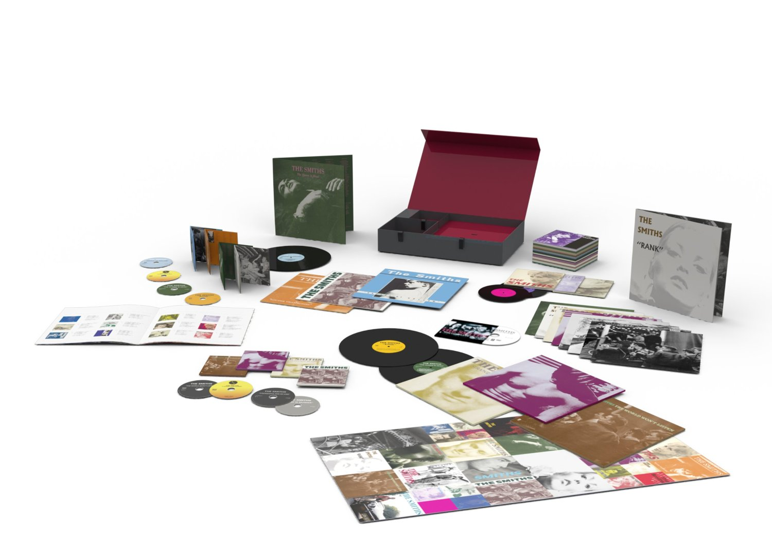 The Smiths Complete Super Deluxe Box Set Vinyl And Cd