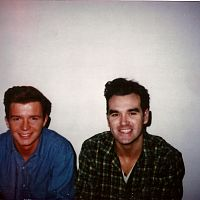 rick astley and morrissey at top of the pops 2