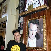 javier in hard rock cafe barcelona 2007 spain