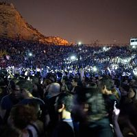 crowd at morrissey concert in athens 16 july 2012 02