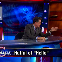 The Colbert Report: Intro Teaser Screenshot