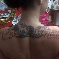 danielle colby cushman tattoo