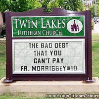 Fun Church Signs