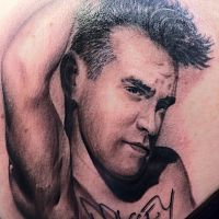 morrissey tattoo back