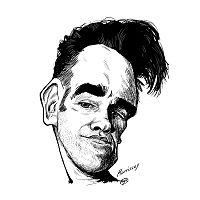 My Morrissey cartoon.