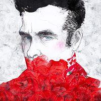 a portrait of Morrissey
