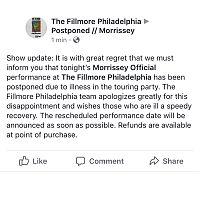 Fillmore_postponed